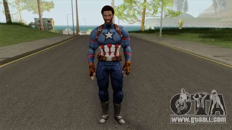 CJ Capitan America for GTA San Andreas