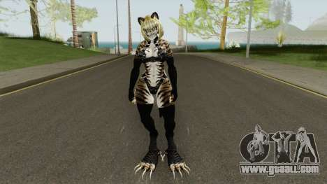 Chiala (Unreal Tournament 3 Cat) for GTA San Andreas
