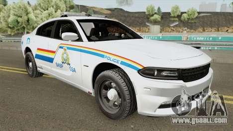 Dodge Charger 2015 SASP RCMP for GTA San Andreas