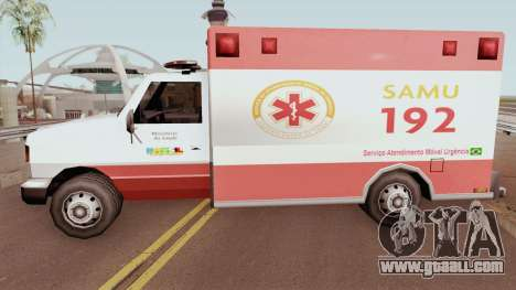 Ambulance TCGTABR for GTA San Andreas