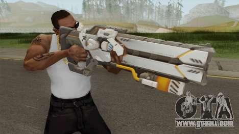 Cyborg 76 Pulse Gun for GTA San Andreas