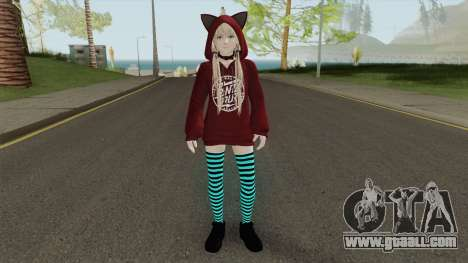 Marie Rose Fuwa Kumi Outfit for GTA San Andreas