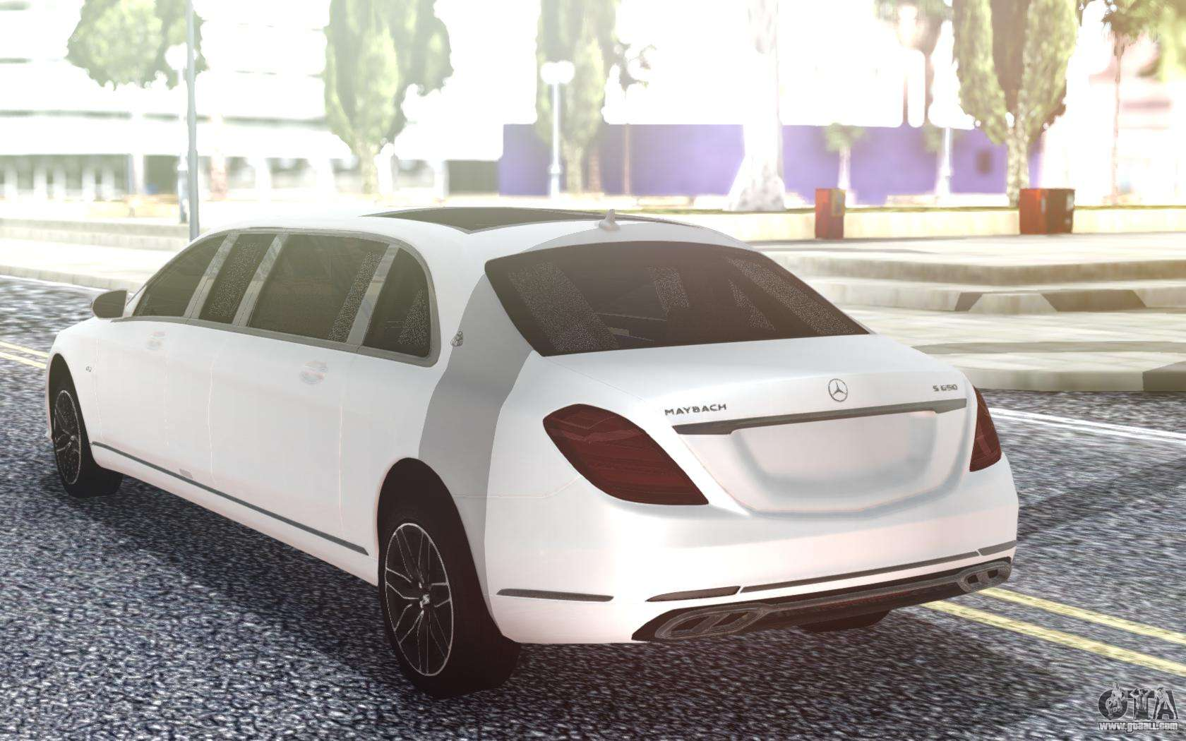 Mercedes Benz S650 Pullman Maybach 2019 For Gta San Andreas