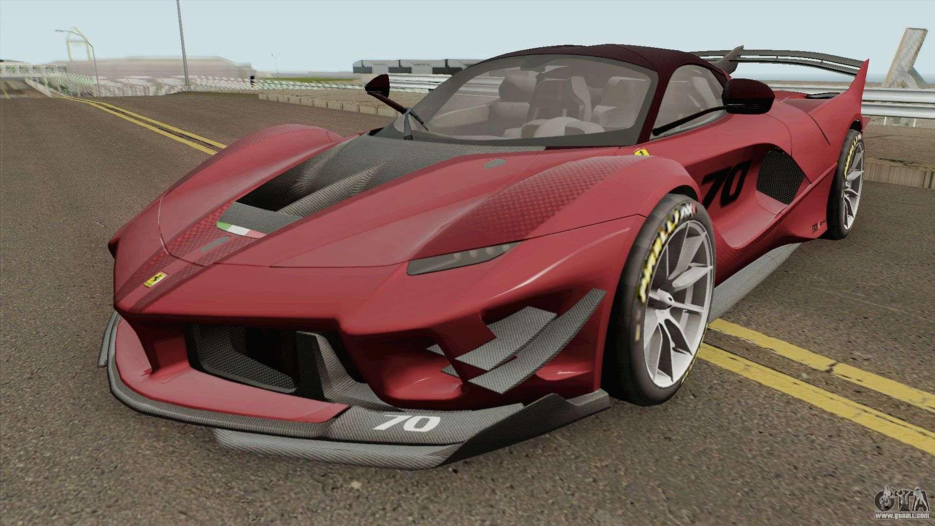 Ferrari Fxx K Evo 2018 For Gta San Andreas