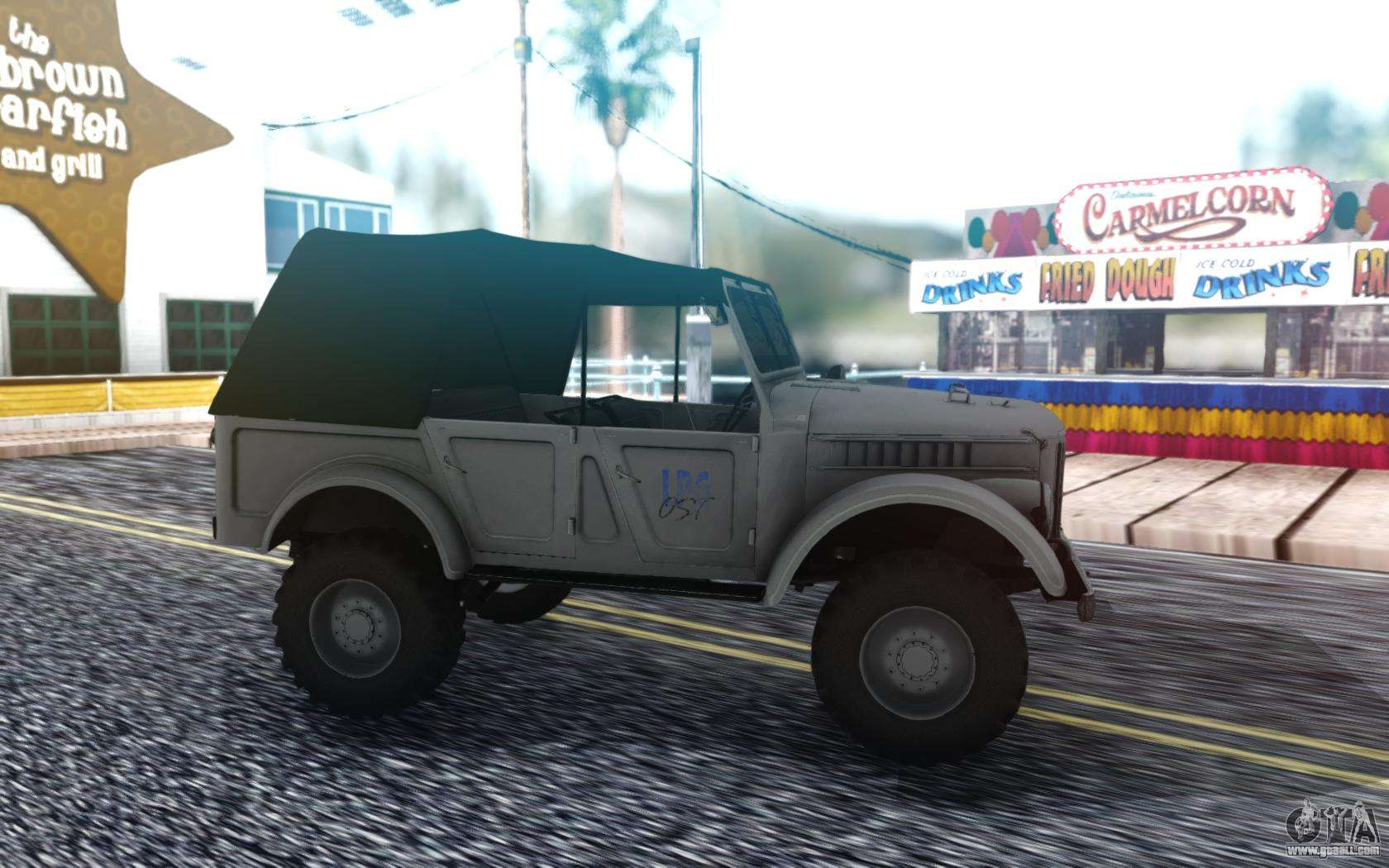 GAZ-69 Farmer Simulator 2015 for GTA San Andreas
