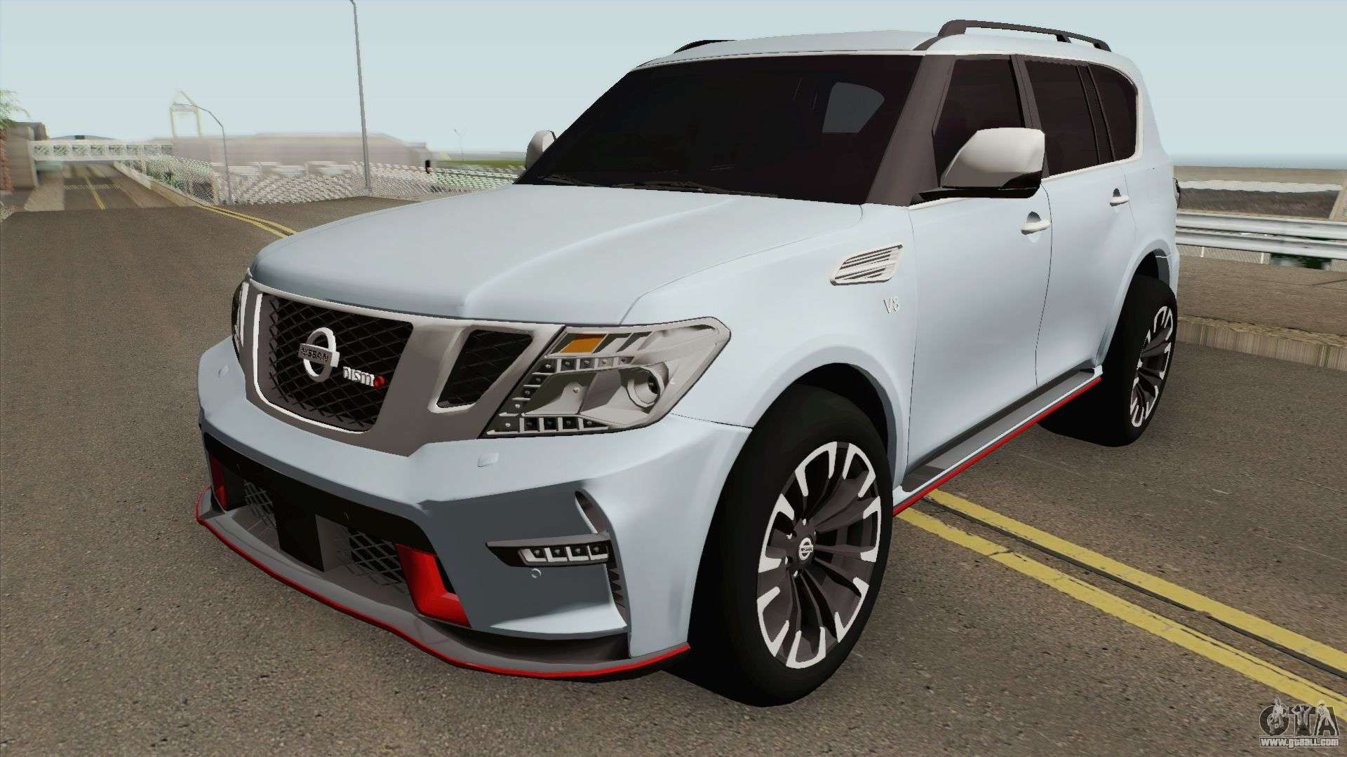 Nissan Patrol Nismo Hq For Gta San Andreas
