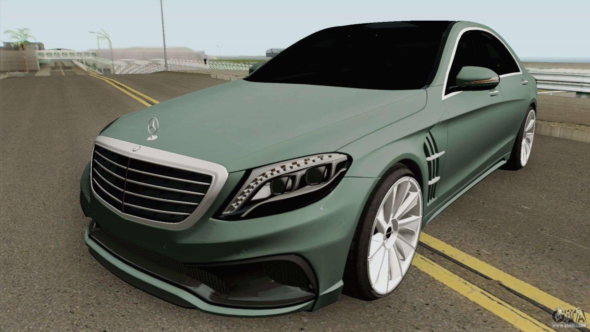 Mercedes Benz S Class W222 Wald Black Bison For Gta San Andreas