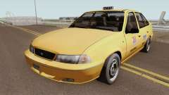 Daewoo Cielo Taxi Colombiano for GTA San Andreas