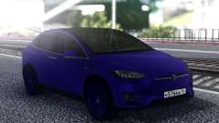Tesla Model X Blue for GTA San Andreas