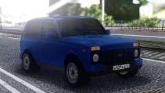 Niva Urban Blue for GTA San Andreas
