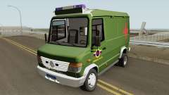 Mercedes-Benz Vario 512D Ambulancia Militar for GTA San Andreas