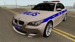 Turkish police car BMW M5 E60