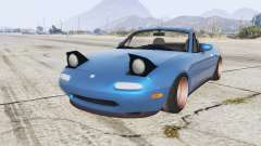 Mazda MX-5 stance v1.1 [replace] for GTA 5