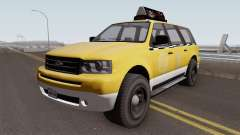 Vapid Prospector Taxi V2 GTA V IVF for GTA San Andreas