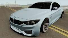 BMW M4 2014 SlowDesign (Black Wheels) for GTA San Andreas