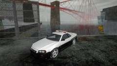 Nissan Skyline R34 Police Low Poly for GTA San Andreas