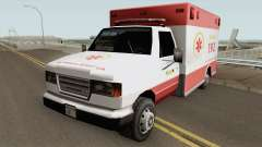 Ambulance TCGTABR for GTA San Andreas