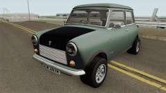 British Leyland Mini 1000 1977 Black Bonnet for GTA San Andreas