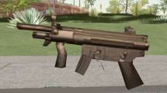 MP5 From GTA Vice City LQ for GTA San Andreas