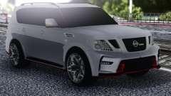 Nissan Patrol Nismo White for GTA San Andreas