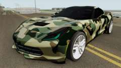 Chevrolet Corvette C7 (Army Style) for GTA San Andreas