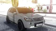 Mercedes-Benz ML 63 AMG Stock for GTA San Andreas