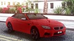 BMW M6 F12 Cabrio for GTA San Andreas