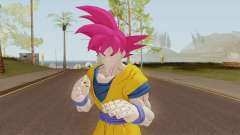 Goku SSJ God for GTA San Andreas