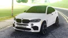 BMW X6M White for GTA San Andreas