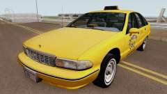 Chevrolet Caprice 1991 Taxi HQ for GTA San Andreas