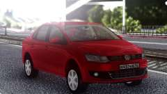 Volkswagen Polo Red for GTA San Andreas