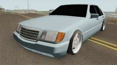 Mercedes S-Klasse W140 1991 SlowDesign for GTA San Andreas