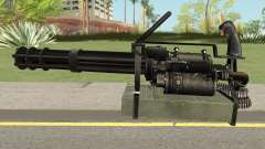 M-134 Minigun Black Ops Camo for GTA San Andreas
