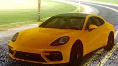 Porsche Panamera Yellow for GTA San Andreas