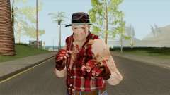 Cliff Hudson from Dead Rising for GTA San Andreas