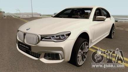 BMW M760Li xDrive 2017 for GTA San Andreas