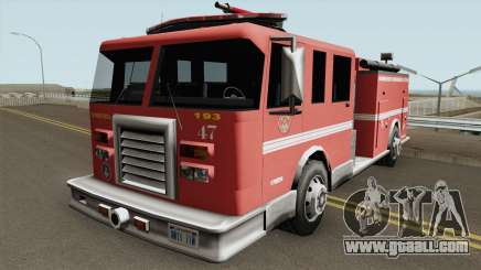 Firetruk Bombeiros SP (MG) for GTA San Andreas