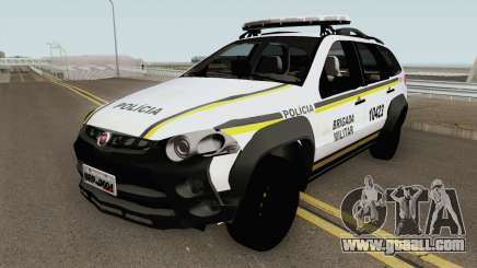 Fiat Palio Weekend Brazilian Police (White) for GTA San Andreas