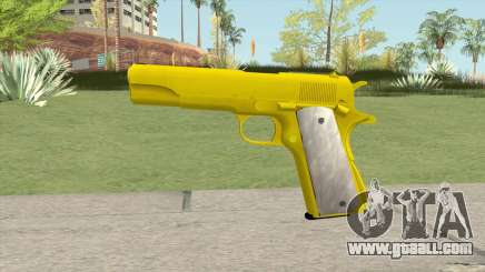 COLT M1911 Gold for GTA San Andreas