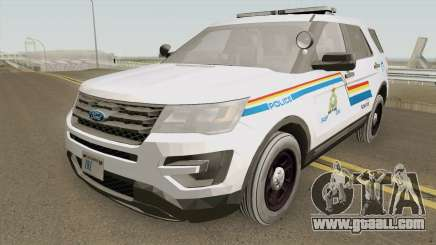 Ford Explorer 2017 SASP RCMP for GTA San Andreas