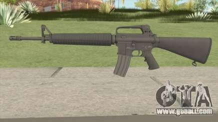 M16A2 HQ for GTA San Andreas
