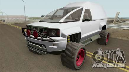 Declasse Brutus Cleaner GTA V for GTA San Andreas