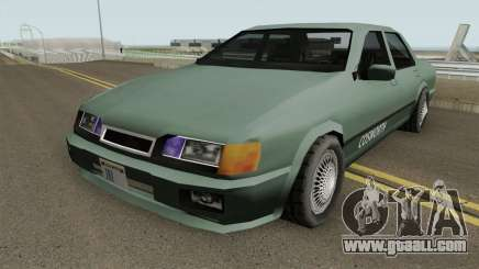 Ford Sierra Low-Poly for GTA San Andreas