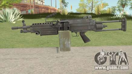M249 (VAGANCIA) for GTA San Andreas