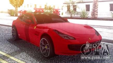 Ferrari GTC4 Lusso for GTA San Andreas