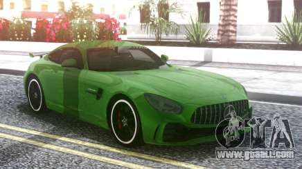 Mercedes-Benz AMG GT R 2017 Green for GTA San Andreas