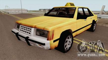 Taxi BETA for GTA San Andreas