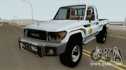 Toyota Land Cruiser Bajos Recursos for GTA San Andreas