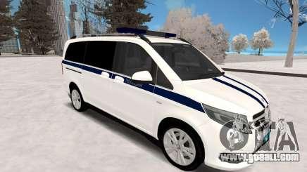 Mercedes Benz Vito Police for GTA San Andreas