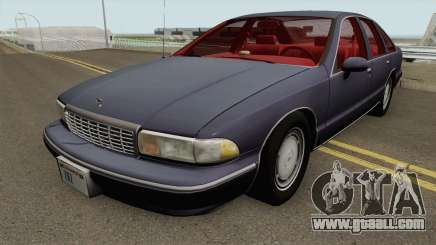 Chevrolet Caprice 1993 Civilian for GTA San Andreas